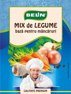 Mix legume- baza pt. mâncăruri Belin 70g