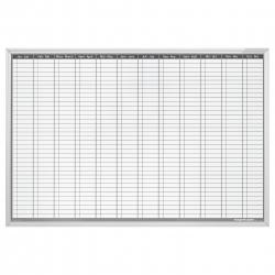 Planner Anual Permanent 900x600mm Magnetoplan