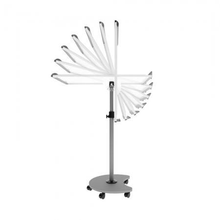 Flipchart Multifunctional mobil 360° magnetic, reglabil pe inaltime, Rocada0