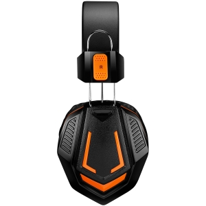 CANYON Gaming headset 3.5mm jack with microphone and volume control, cable 2M, Black2