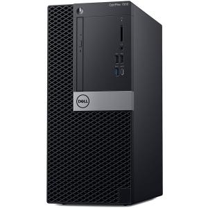 Dell Optiplex 7060 MT, Intel Core i7-8700(12MB Cache, 4.60GHz), 16GB(2x8GB) DDR4 2666MHz, 256GB(M.2) SSD, DVD+/-RW, AMD Radeon RX 550 4GB, Dell USB Optical Mouse, KB216 Keybd, Win 10 Pro(64bit), 3Yr N0