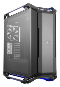 "CARCASA COOLER MASTER. Full-Tower E-ATX, Cosmos  C700P, tempered glass, 3* 140mm fan (inclus), I/O panel, RGB controller & RGB LED strips, black ""MCC-C700P-KG5N-S00""0"