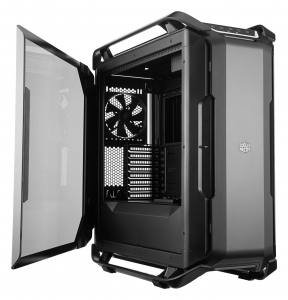 "CARCASA COOLER MASTER. Full-Tower E-ATX, Cosmos  C700P, tempered glass, 3* 140mm fan (inclus), I/O panel, RGB controller & RGB LED strips, black ""MCC-C700P-KG5N-S00""1"