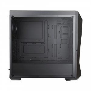"CARCASA COOLER MASTER Middle-Tower ATX, MasterBox K500L, window, 2* 120mm red LED & 1* 120mm fan (incluse), I/O panel, black ""MCB-K500L-KANN-S00"""