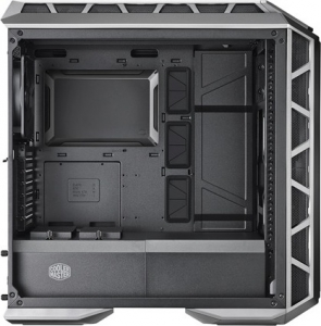 "CARCASA COOLER MASTER Middle-Tower E-ATX, MasterCase. H500P MESH, tempered glass, 2* 200mm RGB fan (incluse), I/O panel, gun metal ""MCM-H500P-MGNN-S10""0"