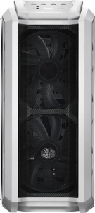 "CARCASA COOLER MASTER Middle-Tower E-ATX, MasterCase. H500P MESH, tempered glass, 2* 200mm RGB fan (incluse), I/O panel, white ""MCM-H500P-WGNN-S00""2"