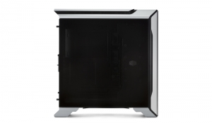 "CARCASA COOLER MASTER Middle-Tower E-ATX, MasterCase SL600M, w/ controller, tempered glass, 2* 200mm fan (incluse), I/O panel, black & silver ""MCM-SL600M-SGNN-S00""2"