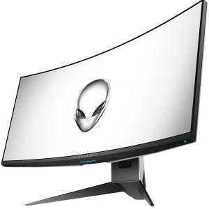"DELL Alienware 34 Curved Gaming Monitor AW3418DW, NVIDIA G-SYNC, 34"" WQHD 3440 x 1440 IPS 21:9, 4 ms (gray-to-gray), 300 cd/m², 1000:1, 16.7 million colors, 178/178, HDMI, DisplayPort, USB 3.0 hub, Ti1"