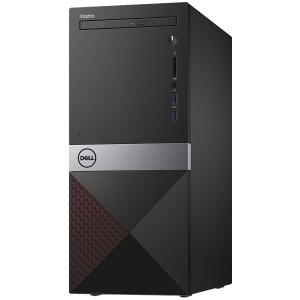 Dell Vostro Desktop 3670 MT, Intel Core i7-8700, 8GB(1x8GB) DDR4 2666MHz, 1TB 7200RPM, Intel Graphics, DVD+/-RW, WiFi 802.11bgn, BT 4.0, Dell MS116 USB Mouse, Dell KB216 US Keybd, Win 10 Pro(64bit), 3
