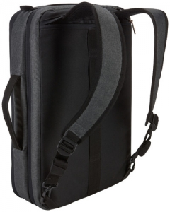 "Geanta laptop 15.6\'\' Case Logic Era,convertibila in rucsac, black, ""ERACV-116 OBSIDIAN/3203698""2"