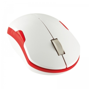 """MOUSE LOGILINK wireless, 1200dpi, 3 butoane, 1 rotita scroll, white&red """"ID0129"""" (include timbru verde 0.1 lei)4"""