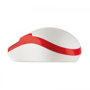 """MOUSE LOGILINK wireless, 1200dpi, 3 butoane, 1 rotita scroll, white&red """"ID0129"""" (include timbru verde 0.1 lei)3"""