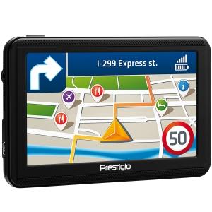 "Prestigio GeoVision 5060, 5"" (480*272) TN display, WinCE 6.0, 800MHz Mstar MSB2531 Cortex A7, 128MB DDR, 4GB Flash, 600mAh battery, color/black2"