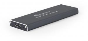 "RACK EXTERN GEMBIRD M.2 SDD to USB 3.0, Aluminiu, black,  ""EE2280-U3C-01""0"
