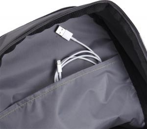 "RUCSAC CASE LOGIC notebook 15.6"", poliester, 2 compartimente, buzunar interior tableta, buzunar frontal, 2 buzunare laterale, antracit ""WMBP-115ANTHRACITE""/32035155"