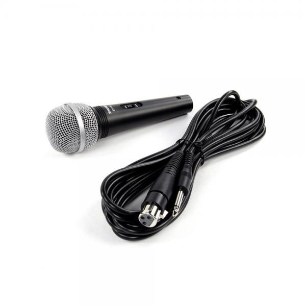 Microfon profesional cu fir Shure SV100-A, cardioid, utilizare multipla3