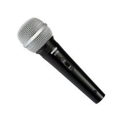 Microfon profesional cu fir Shure SV100-A, cardioid, utilizare multipla