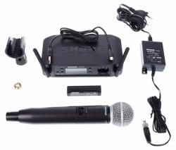 Microfon wireless Shure GLXD24/SM58 original, microfon si receiver
