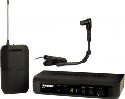 Microfon wireless Shure BLX14E/B98, de instrumente, microfon si receiver