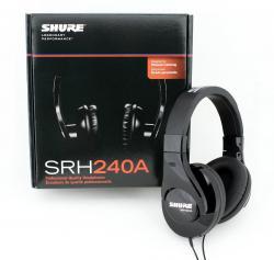 Casti profesionale Shure SRH240A, tehnologie closed-back, design circumaural