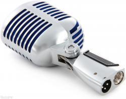 Microfon profesional  Shure SUPER 55 Deluxe cu design clasic2