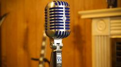 Microfon profesional  Shure SUPER 55 Deluxe cu design clasic3