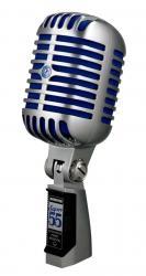 Microfon profesional  Shure SUPER 55 Deluxe cu design clasic0
