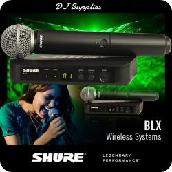 Microfon wireless Shure BLX24/SM58 original1