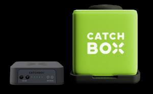 Microfon wireless CatchBox Plus, pentru conferinte de 1000 persoane, culoare verde3