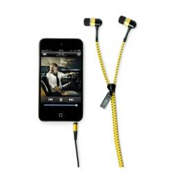 Casti audio in-ear hi-Fun hi-String 13197, galben