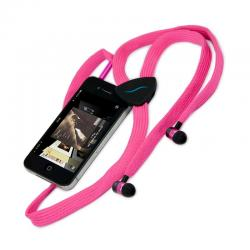 Casti audio in-ear hi-Fun hi-String 13200, pink