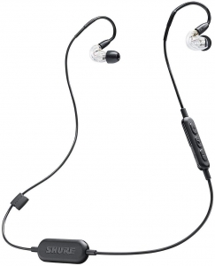 Casti profesionale in-ear Shure SE215-CL-BT1-EFS,  Bluetooth, Wireless, cu super izolare fonica, transparent6