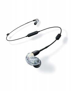 Casti profesionale in-ear Shure SE215-CL-BT1-EFS,  Bluetooth, Wireless, cu super izolare fonica, transparent0