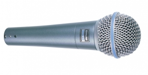Microfon Shure Beta 58A original, profesional, supercardioid2