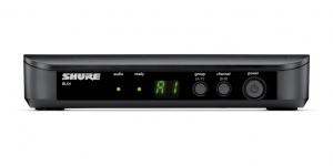 Sistem profesional wireless original Shure BLX24/PG58, microfon si receiver1