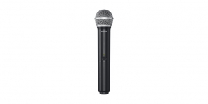 Sistem profesional wireless original Shure BLX24/PG58, microfon si receiver3