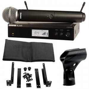 Sistem profesional wireless original Shure BLX24R/SM58, microfon si receiver