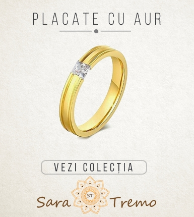 Banner homepage placate cu aur