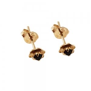 Cercei mici placati cu aur Trace