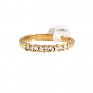 Inel de logodna placat cu aur Rock & Shine1