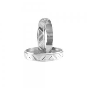 Inel tip verigheta din argint 9251