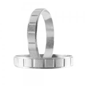 Inel tip verigheta din argint 925