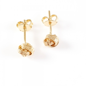 Cercei placati cu aur Impressive1