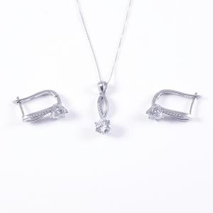 Set bijuterii din argint Hush0