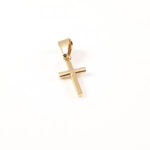 Cruciulita placata cu aur Prophet