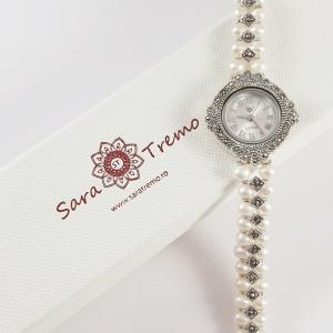 Ceas din argint masiv Queen by SaraTremo9