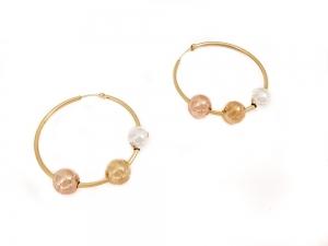 Cercei placati cu aur Appeal3