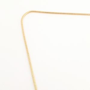 Colier placat cu aur Josie4