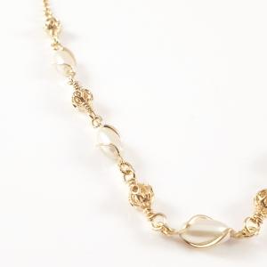 Colier placat cu aur Mira2