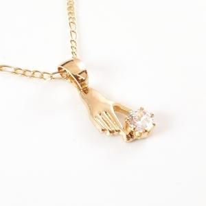 Colier placat cu aur Visible3
